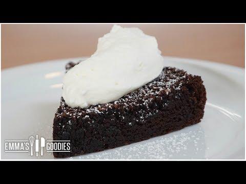 Chocoholics Flourless Chocolate Cake Recipe - Gluten Free Cake!