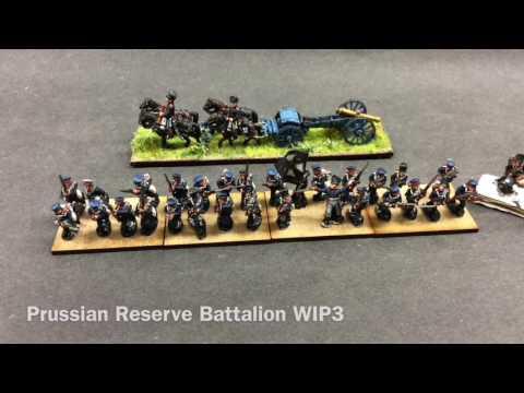 Prussian Reserve Battalion WIP3
