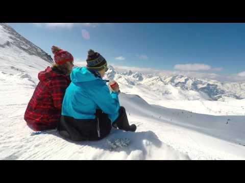 Les 2 Alpes Chilling time Timelapse