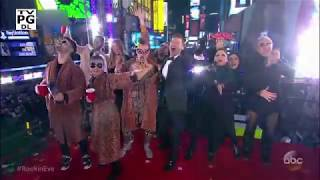Dick Clark's New Year's Rockin' Eve with Ryan Seacrest 2018 - Rock out