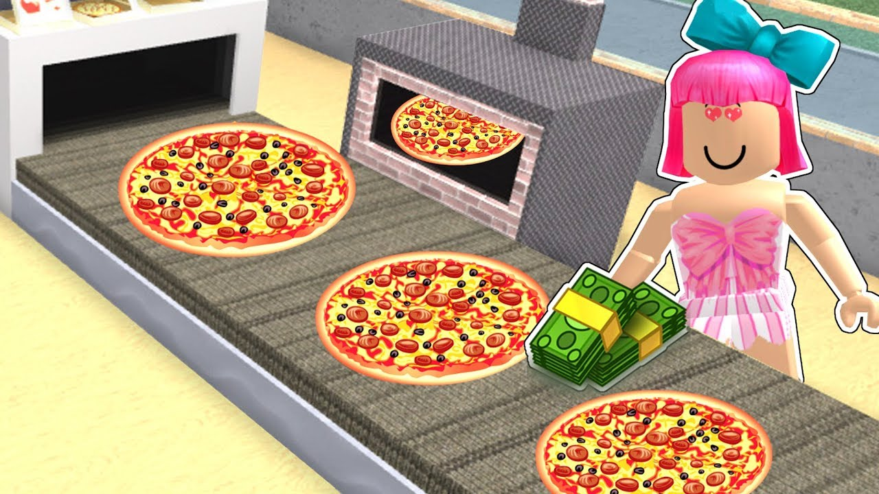 Roblox Opening A 1 000 000 Dollar Pizza Factory Youtube