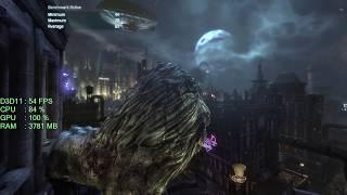 AMD Radeon RX 560 -- AMD Ryzen 3 1300X -- Batman Arkham City GOTY Benchmark
