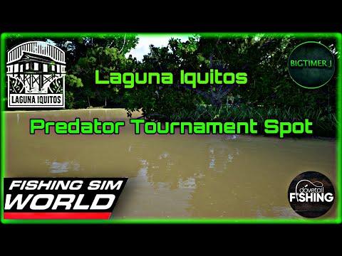 Laguna Iquitos - Predator Tournament Spot - Fishing Sim World 🎣  