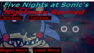 Five Nights At Sonic's Nightmare Revived: I got the bad ending already??