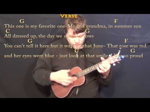 In Color (Jamey Johnson) Ukulele Cover Lesson in G with Chords/Lyrics