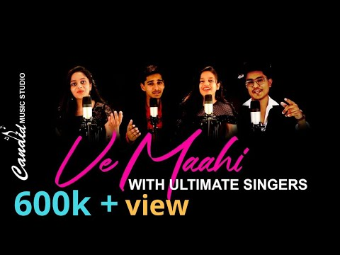 Ve Maahi | Kesari | Cover By Palak | Dhruvi | Ubaid | Asif Ali | Music Ramiz Raja | Video MS