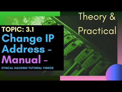 Change IP Address Using Proxy/VPN Configuration (Manual) | Theory + Live Practical | Topic: 3.1