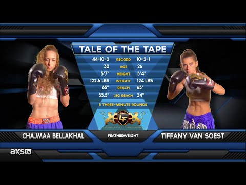 Fight of the Week: Tiffany Van Soest Unleashes Hell at Lion Fight 21