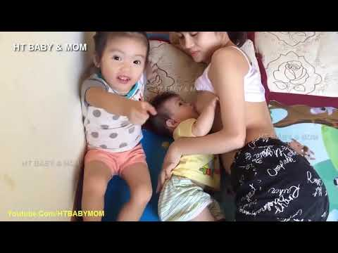 Young Mother To Breastfeeding Baby