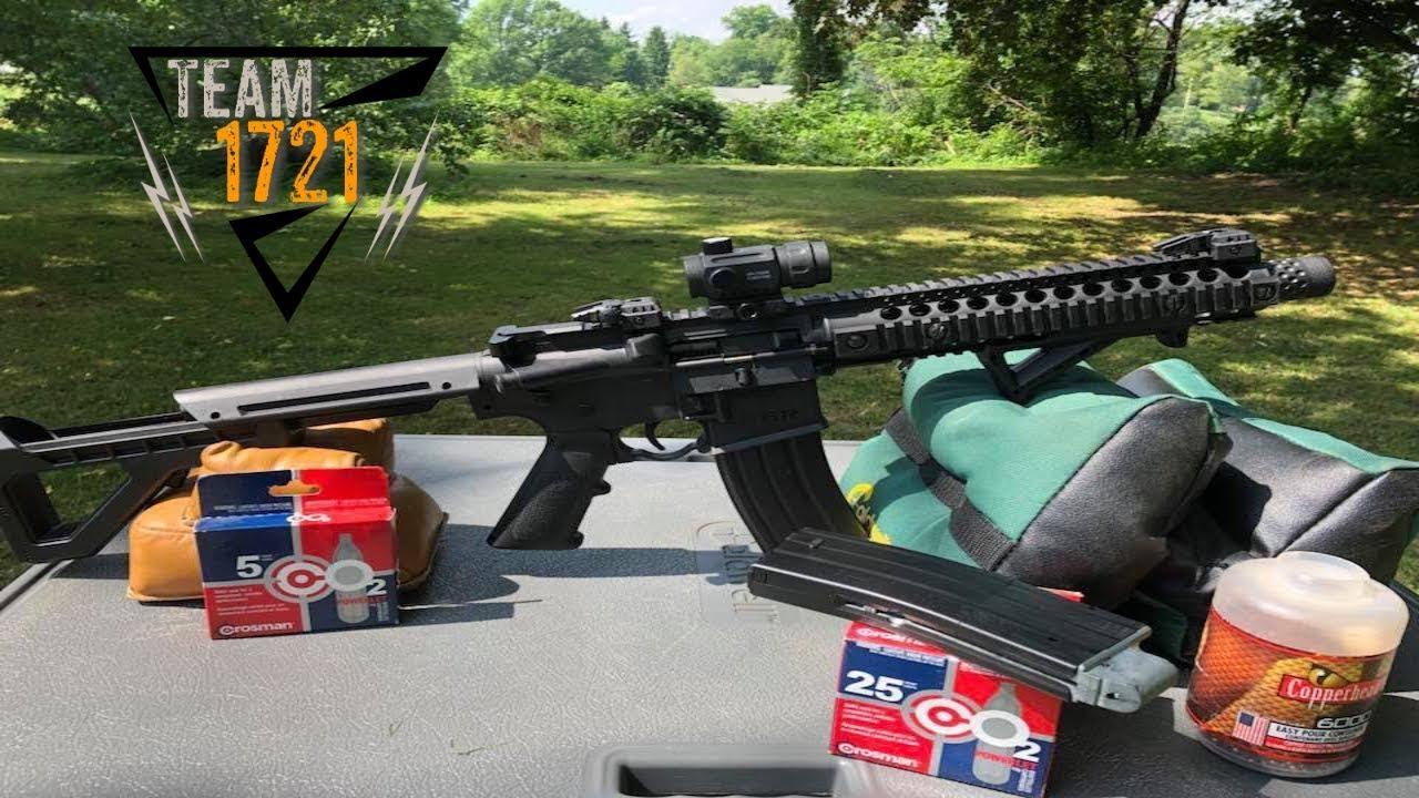 Crosman DPMS SBR Full-Auto BB Air Rifle
