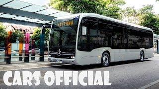 World premiere - Mercedes-Benz eCitaro city bus (first look)