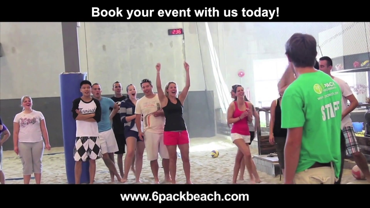 6 Pack Indoor Beach - Western Canada's largest indoor Beach Facility