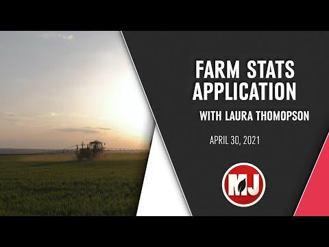 Farm Stats App | Laura Thompson | April 30, 2021