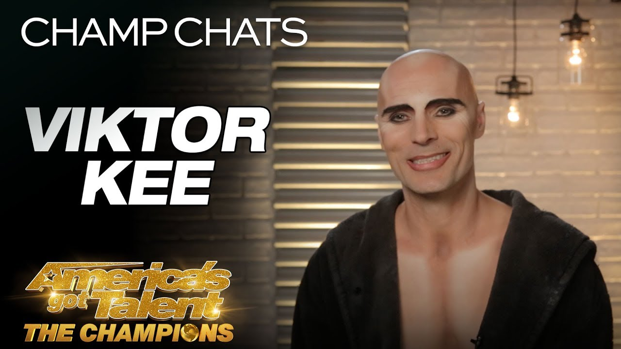Viktor Kee Opens Up About Setting An Example For His Family - America's Got Talent: The Champions