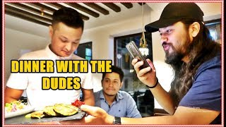 DIN DIN WITH THE DUDES AT HERANYA YALA | KICHHY VLOGS