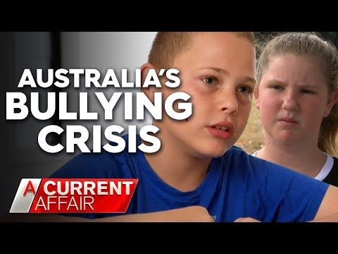Bullying crisis has kids 'terrified' to go to school | A Current Affair