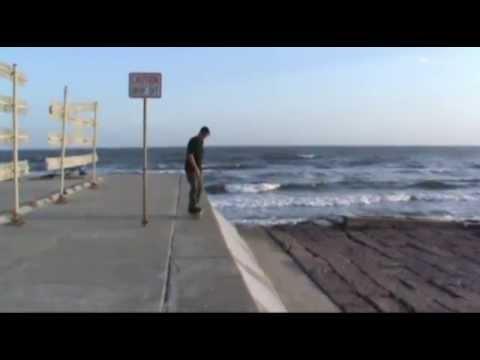 Darkslide Galveston Seawall