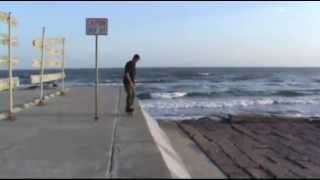 Darkslide Galveston Seawall