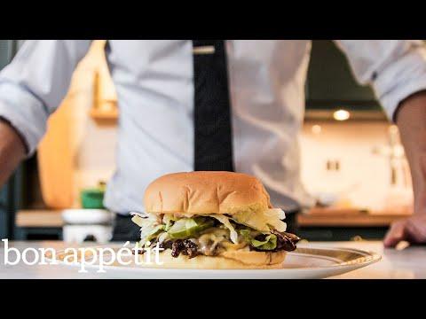 How To Make A Smash Burger At Home | Bon Appétit