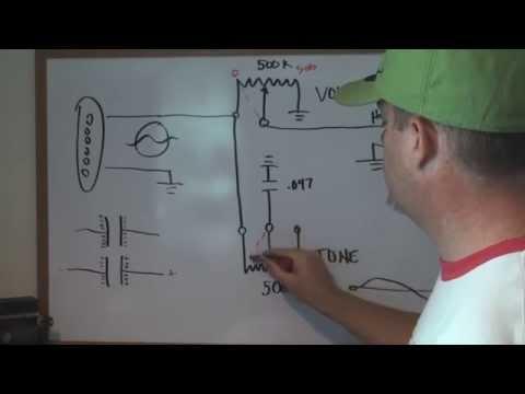 how guitar electronics work tone, volume, pickups etc
