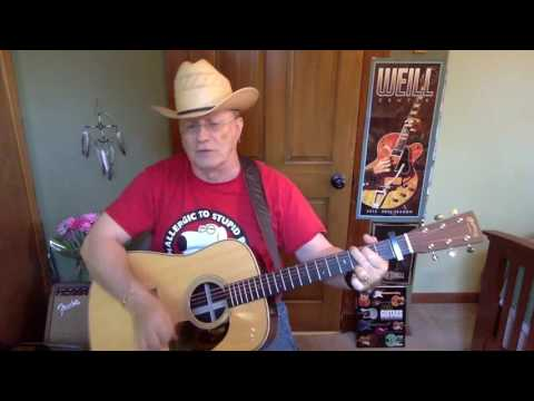 2108 -  Hillbilly Highway  - Steve Earle vocal & acoustic guitar cover & chords