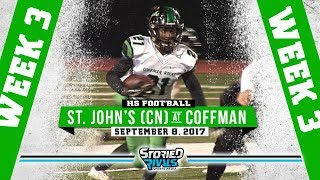 HS Football | St. John's College (Canada) at Dublin Coffman [9/8/17]