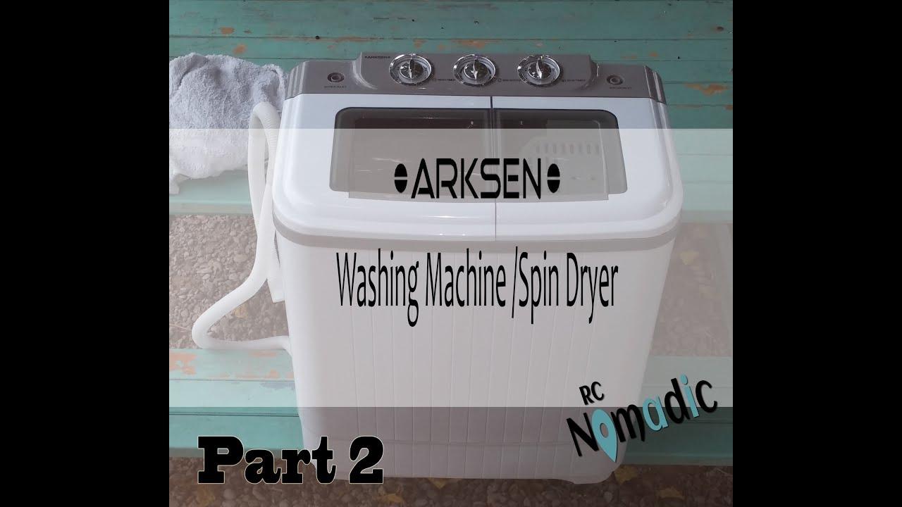 Spin Dryer Parts : Arksen washing machine spin dryer part youtube