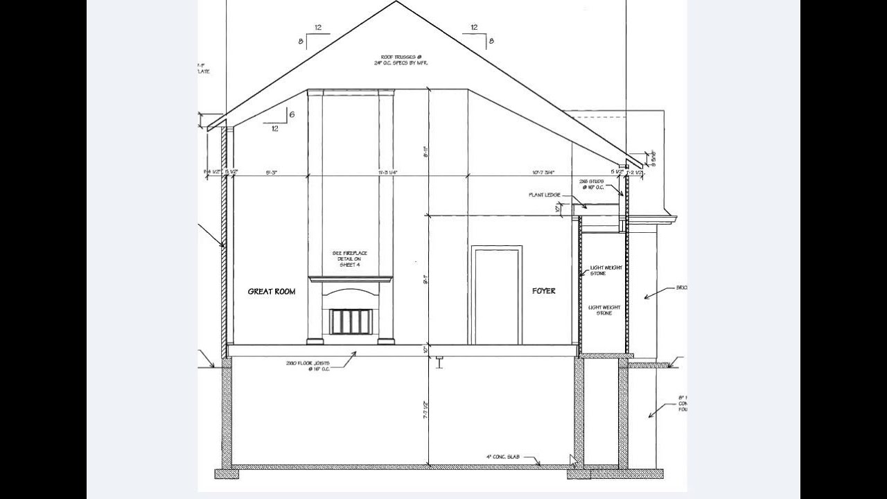 What is Included in a Typical Set of Working Drawings