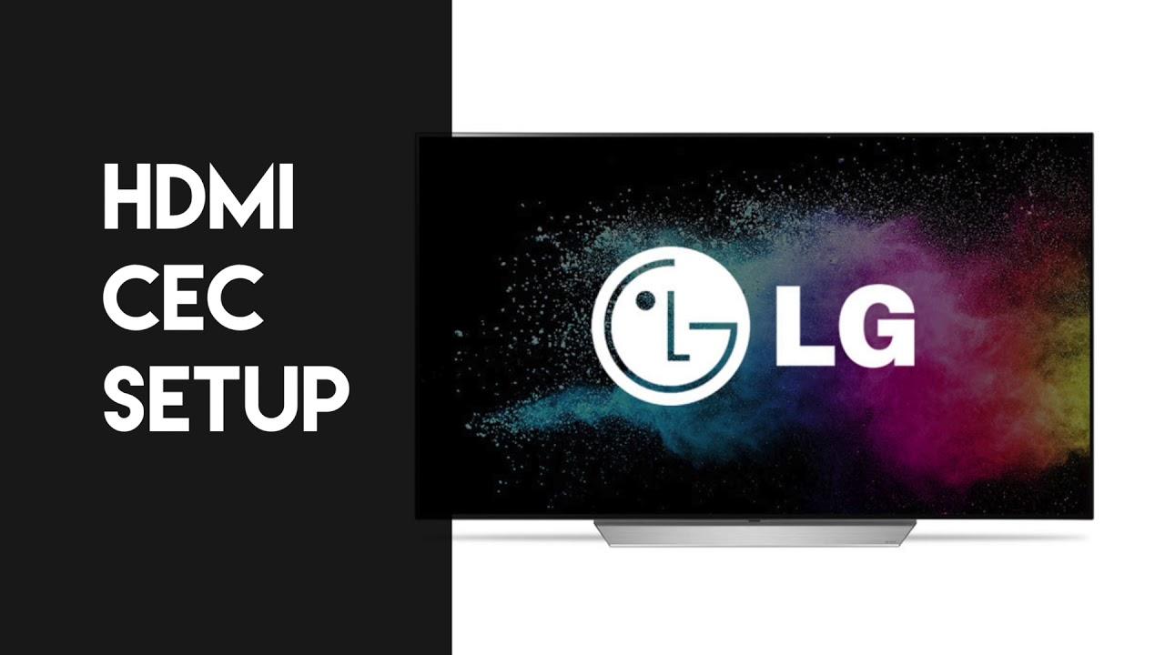LG TV SIMPLINK HDMI CEC Settings for Soundbar and Sound System