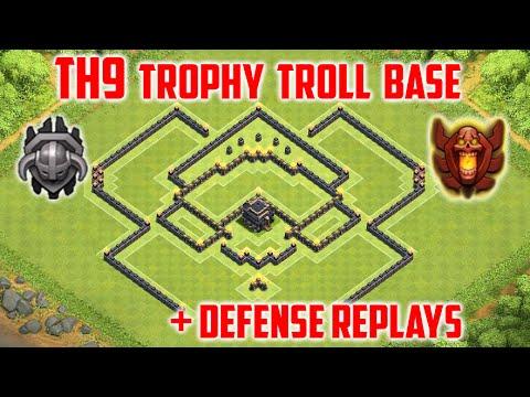 Th9 Best Defense Trophy Base 11
