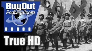 HD Historic Stock Footage - CHINA 1947 Reel 2