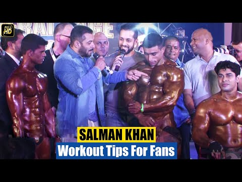 Salman Khan's Gym Bodybuilding Workout Tips For Fans