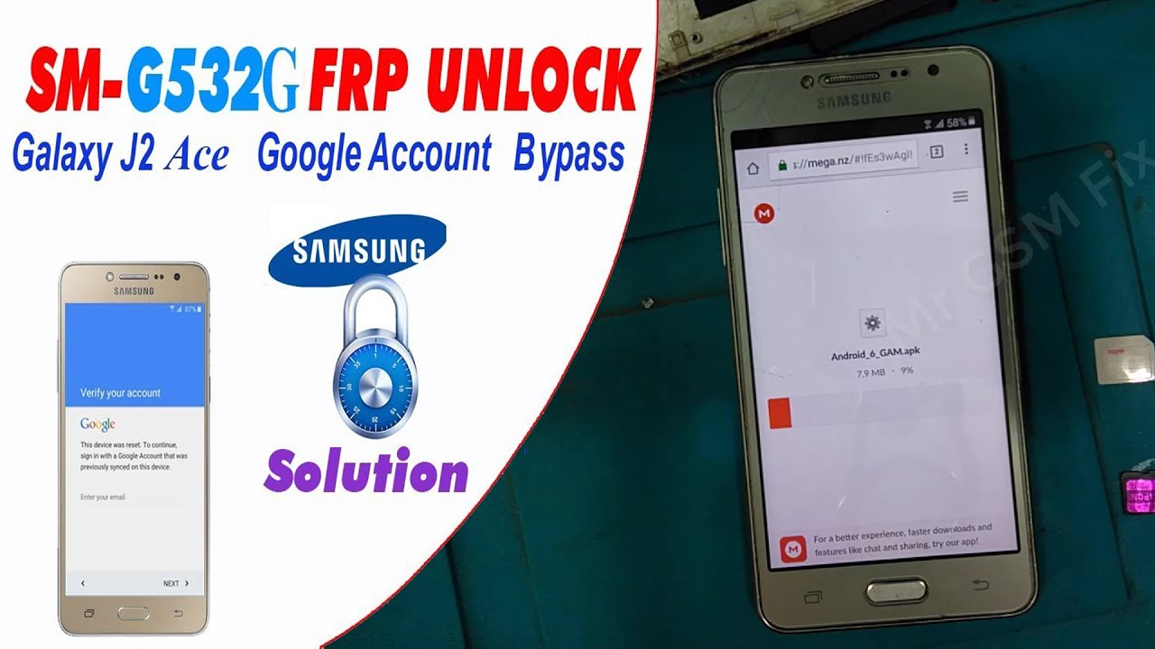 Samsung SM-G532G FRP Bypass Google Protection Remove Without PC & No Any Device Total Free