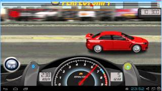 Drag Racing Mitsubishi Lancer Evo Fq Level Tune Mile