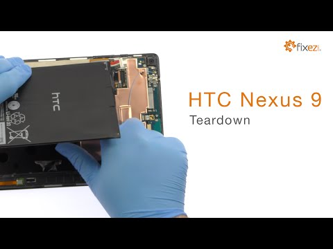 How to Teardown the HTC Nexus 9