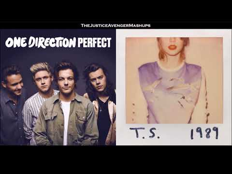 One Direction VS Taylor Swift - Perfect Style [Mixed Mashup]