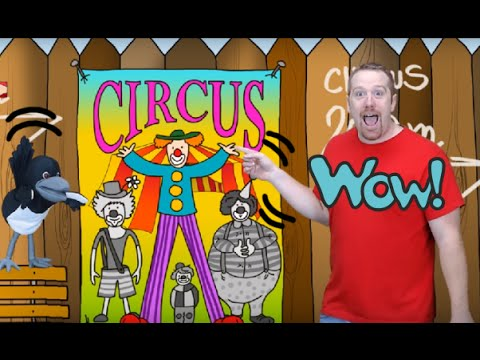 Funny Clown Steve | English Story for Kids | Steve and Maggie