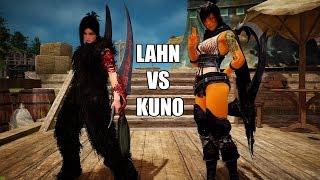 Black Desert Online Lahn (Lethal Skill) VS Kuno (ImLumi) PvP @1440p