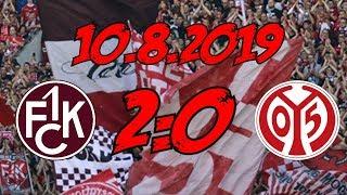1. FC Kaiserslautern 2:0 1. FSV Mainz 05 - 10.8.2019 - DIE #1 IN RHEINLAND-PFALZ SIND WIR!!!