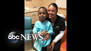 America Strong: Nursing student rescues drowning boy