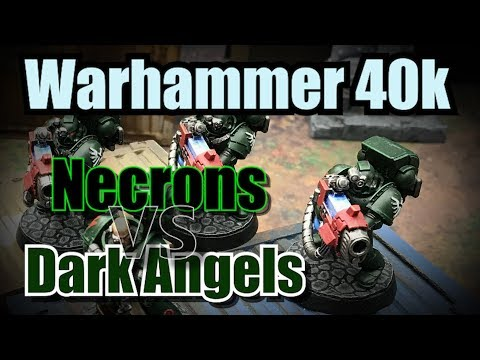 Necrons vs Dark Angels Warhammer 40k Battle Report Ep40