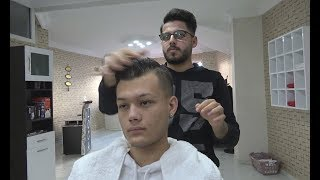ASMR Turkish Barber Face,Head and Body Massage 175