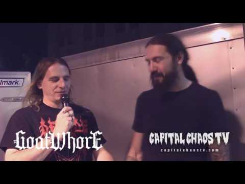 Louis Benjamin Falgoust II of Goatwhore Interviewed In Oakland on Capital Chaos TV