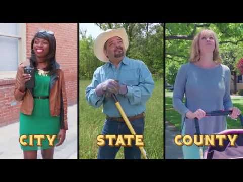 What's the difference between your city, state and county government?