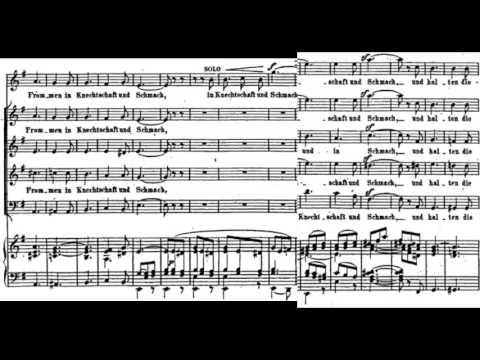 Hör Mein Bitten, Felix Mendelssohn