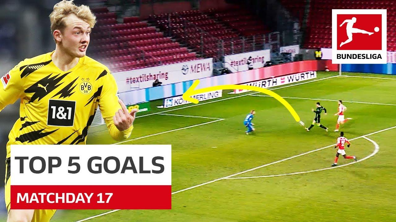 Download Top 5 Goals • Brandt, Kramaric, Forsberg & Co. | Matchday 17 - 2020/21