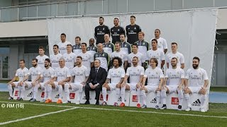 Go behind the scenes at Ciudad Real Madrid for today's official team photoshoot!