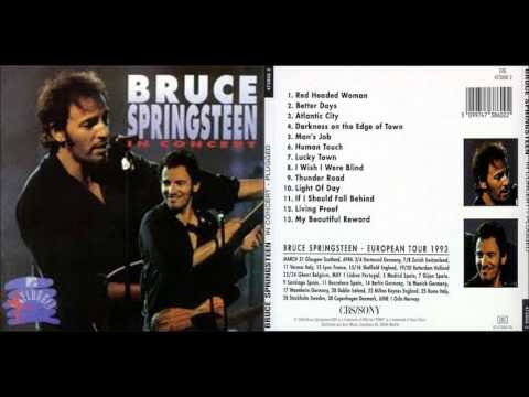 BRUCE SPRINGSTEEN - Human Touch (audio; MTV Xplugged, '92)