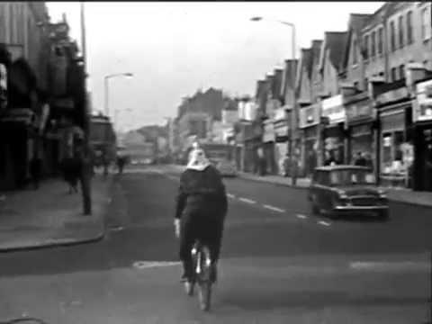 WIMBLEDON SHOPS, SOUTH LONDON (8mm, 1960s)