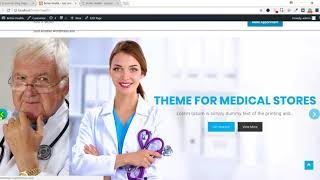 Better Health WordPress Theme Demo Import and Settings